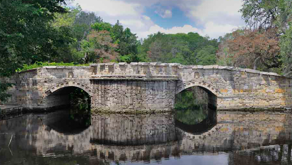 Roman Bridge at Festival Hill