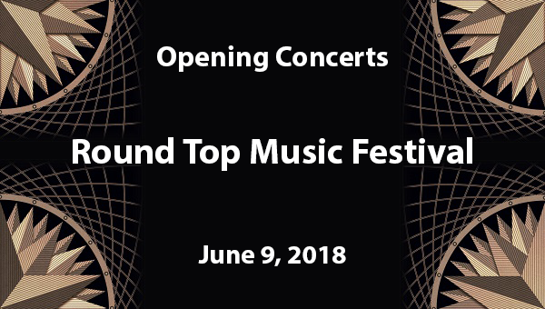 Round Top Music Festival 1st Concert