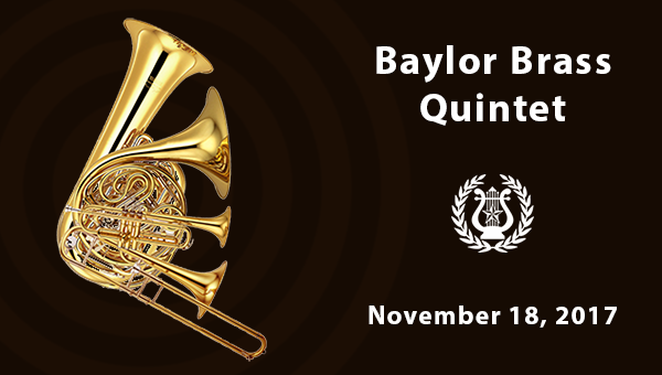Baylor Brass Quintet November 18
