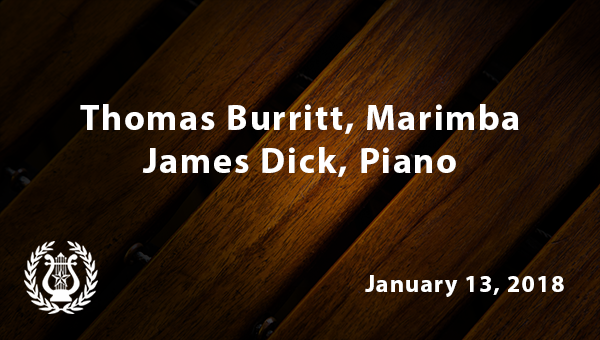 Thomas Burritt Marimba January 13