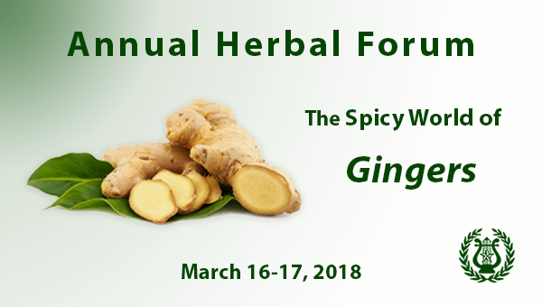 Herbal Forum March 16-17